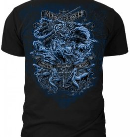 "MidMil Navy Shellbacks T-Shirt ""Ancient Order of the Deep"" Black"