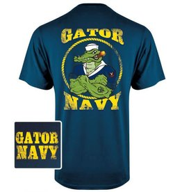 MidMil Gator Navy T-Shirt Dark Blue