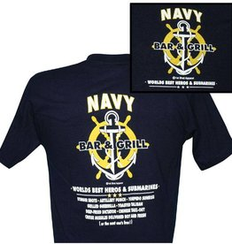 MidMil Navy Bar & Grill T-Shirt
