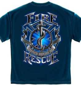 MidMil Fire Rescue EMS T-Shirt Black