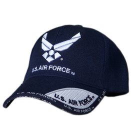 MidMil Air Force Hat with New Emblem Dark Blue