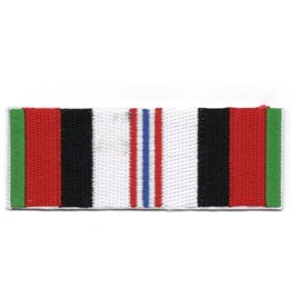 MidMil Embroidered Afghanistan Service Ribbon Patch