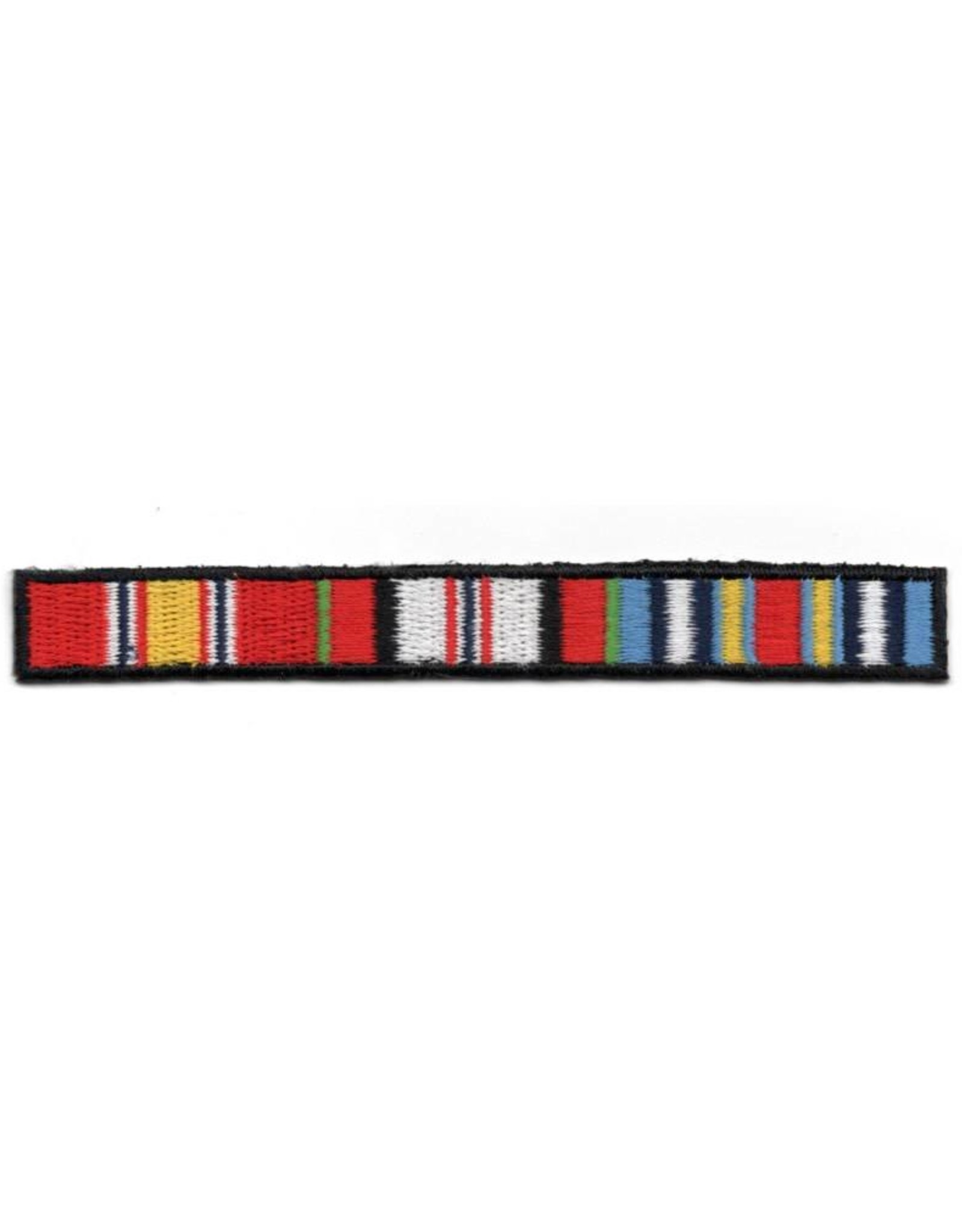 MidMil Embroidered Afghanistan Ribbons Patch