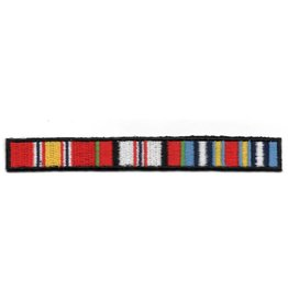 Embroidered Afghanistan Ribbons Patch