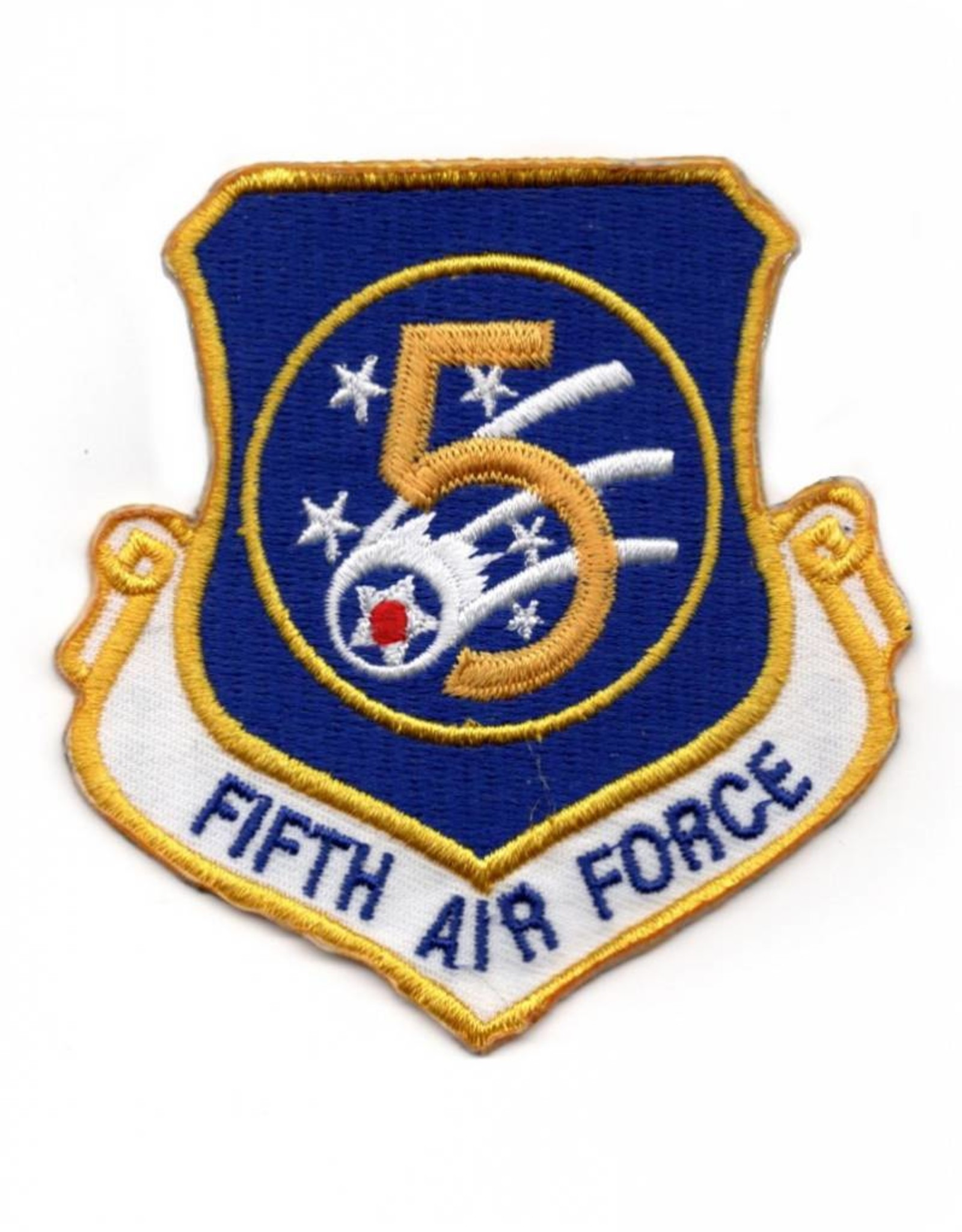 MidMil Embroidered 5th Air Force Emblem Patch