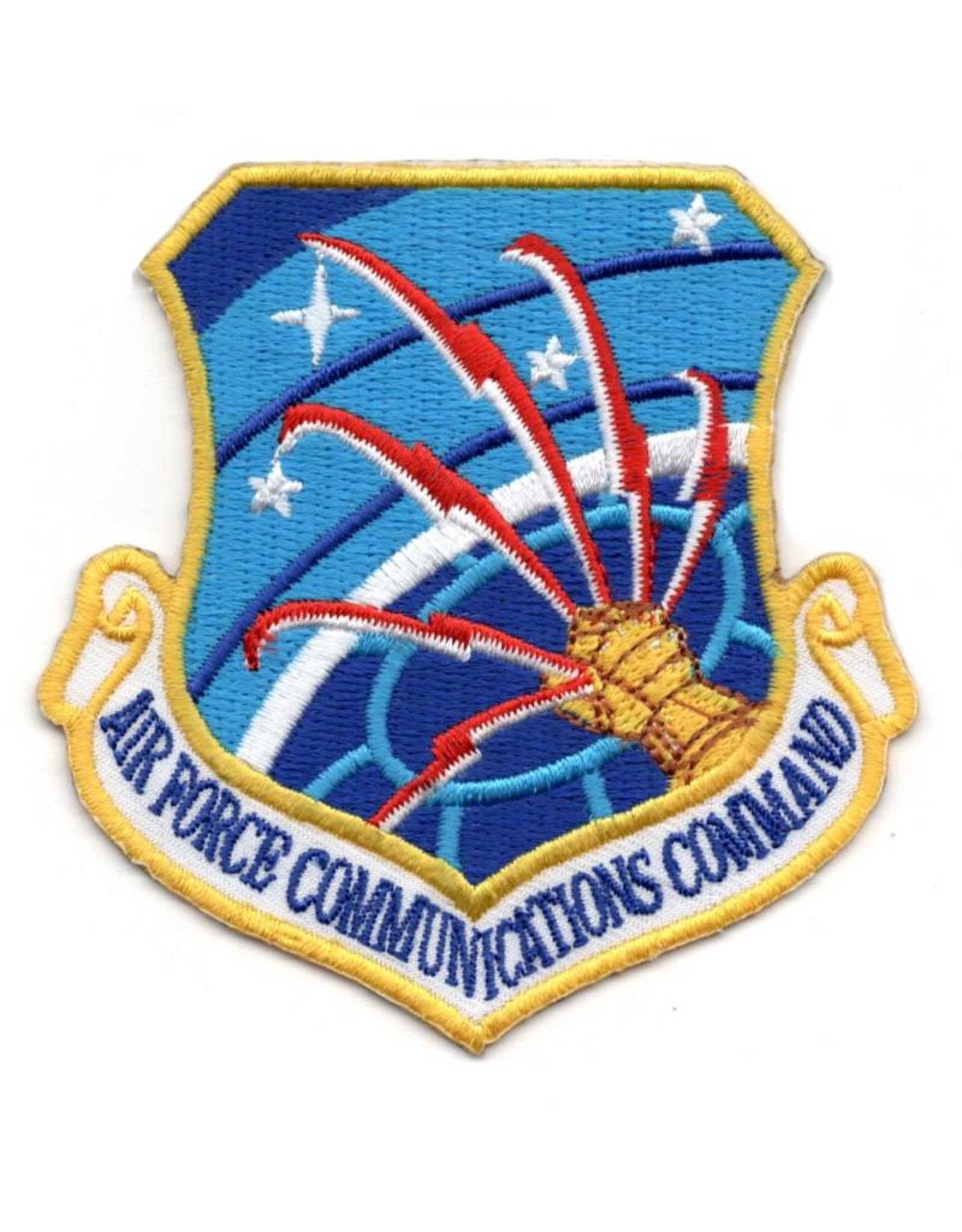 MidMil Embroidered Air Force Communications Command Patch
