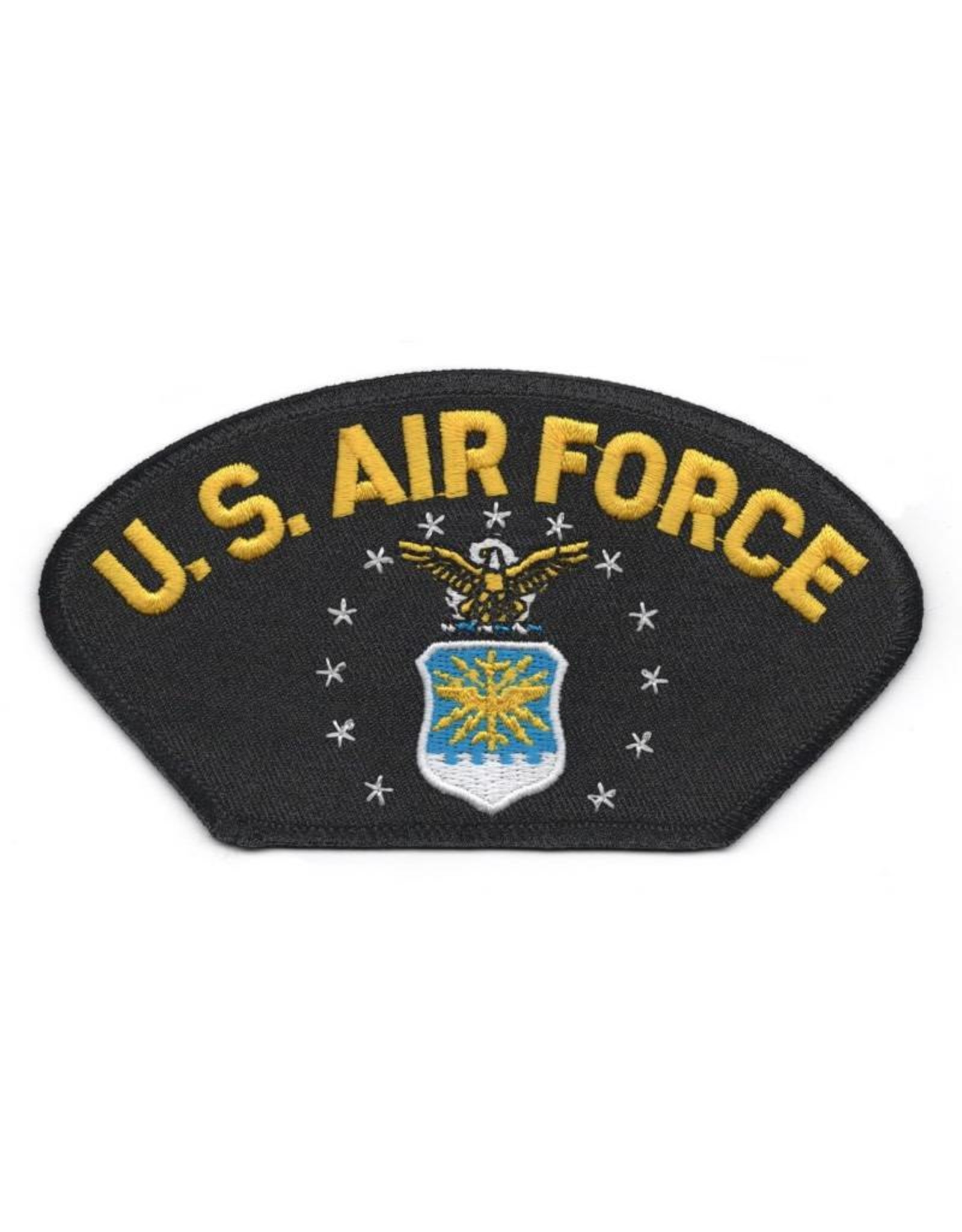 MidMil Embroidered Air Force Patch with Eagle over Shield