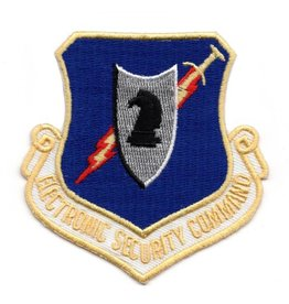 MidMil Embroidered Air Force Electronic Security Command Patch