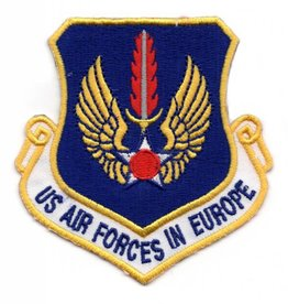 Embroidered US Air Forces in Europe Patch Emblem Only