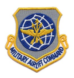 MidMil Embroidered Air Force Military Airlift Command Patch