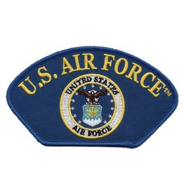 MidMil Embroidered U.S. Air Force Patch with Seal Royal Blue