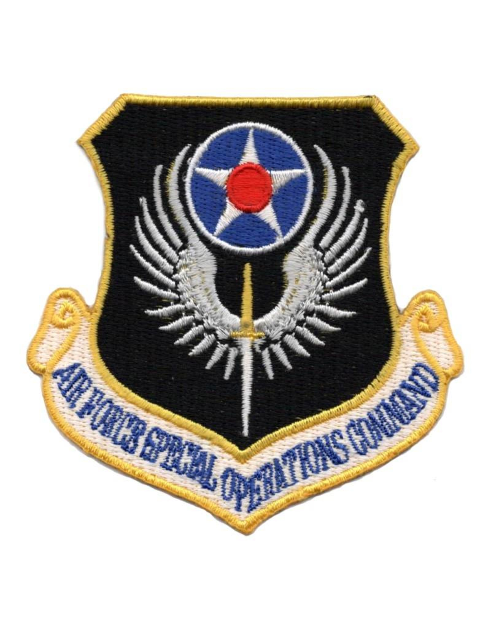 MidMil Embroidered Air Force Special Operations Command Patch