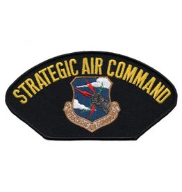 MidMil Embroidered Air Force Strategic Air SAC Command Patch with Emblem