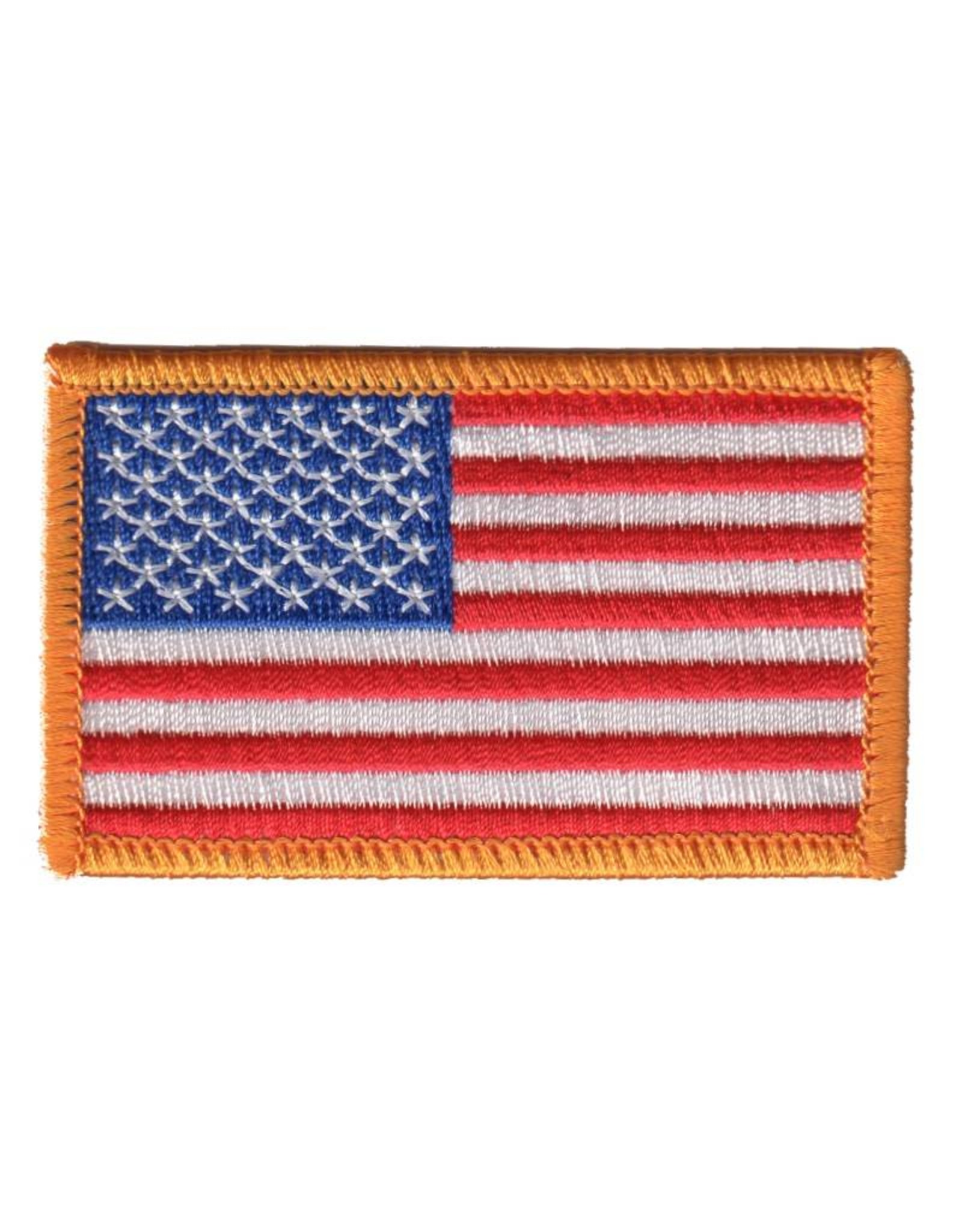 MidMil Embroidered American Flag Patch