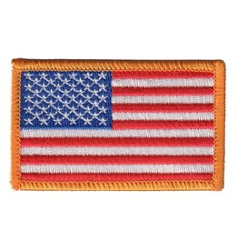 Embroidered American Flag Patch