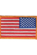 MidMil Embroidered Reversed American Flag Patch