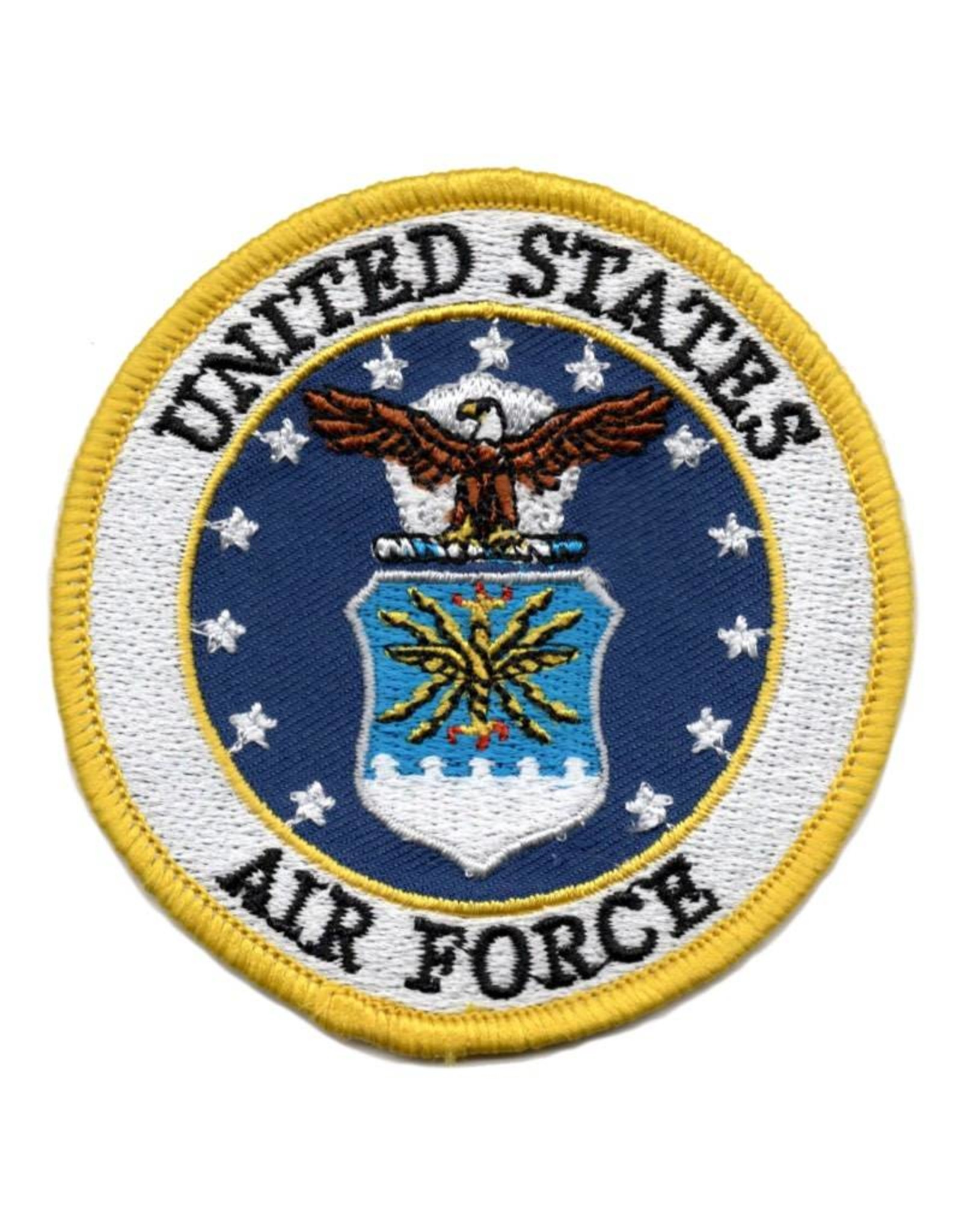 MidMil Embroidered Air Force Seal Patch