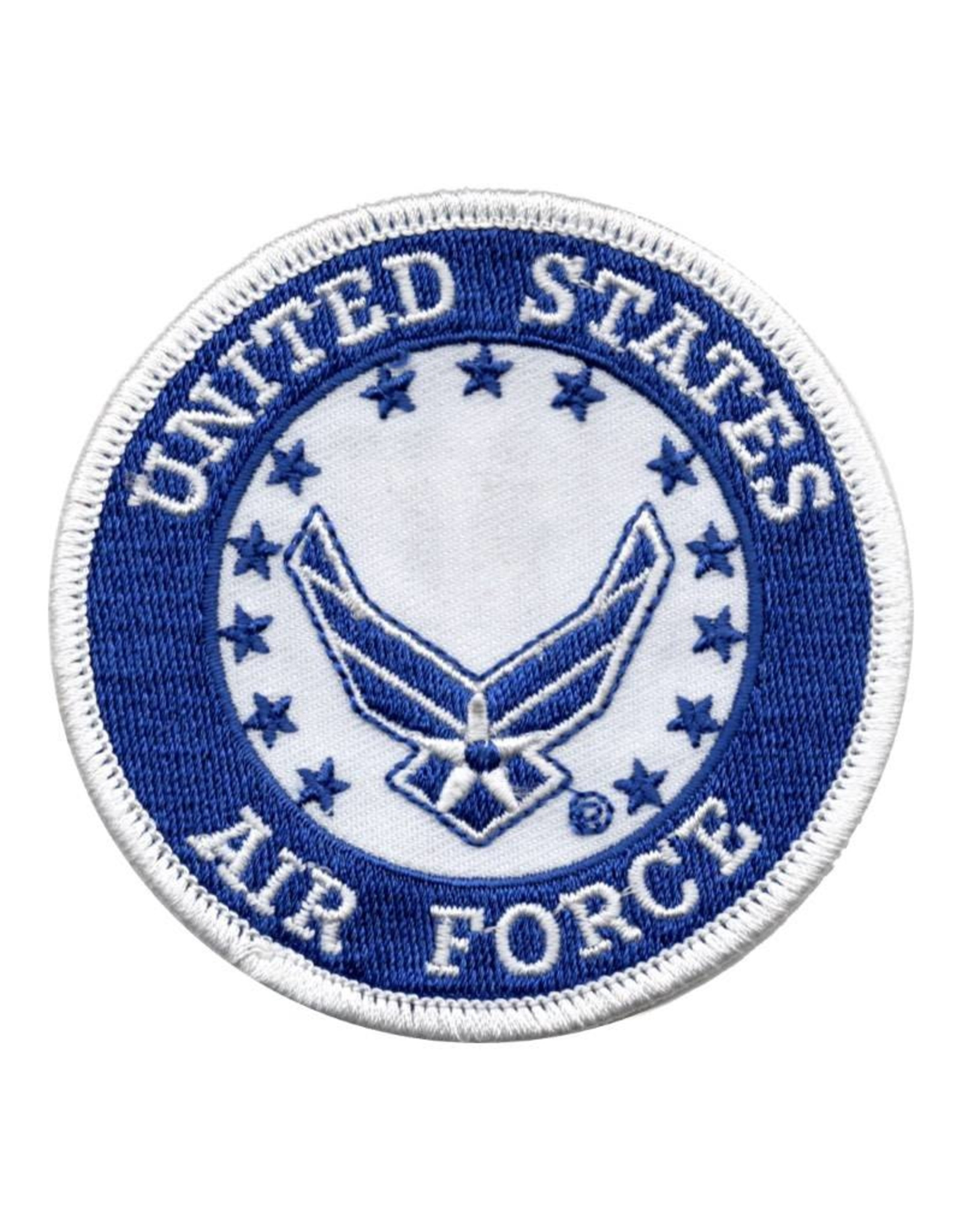 MidMil Embroidered Air Force Patch with Wing Emblem