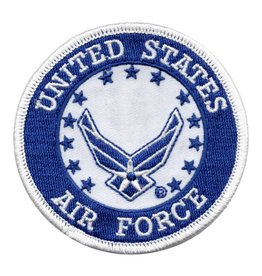 MidMil Embroiderd Air Force Patch with New Emblem