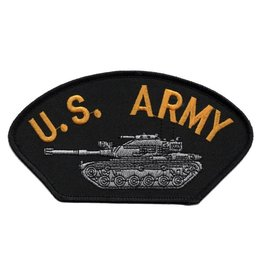 MidMil Embroidered U. S. Army Patch with M-60 Tank
