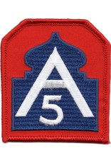 MidMil Embroidered 5th Army Patch