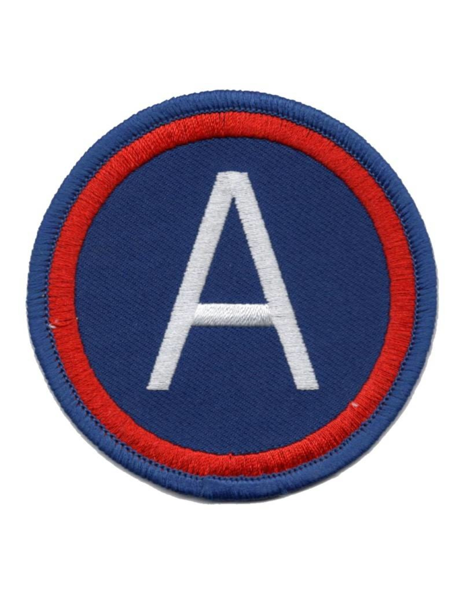 MidMil Embroidered 3rd Army Patch