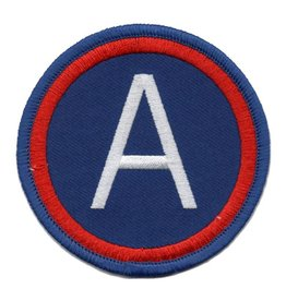 Embroidered 3rd Army Patch