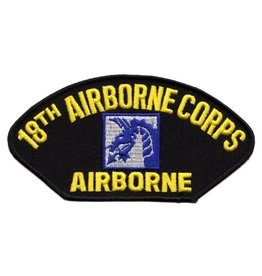 MidMil Embroidered Army 18th Airborne  Corps Patch with Emblem