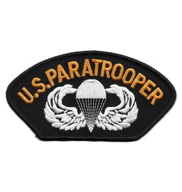 MidMil Embroidered U.S. Paratrooper Patch with Emblem