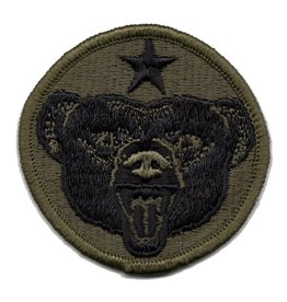MidMil Embroidered Subdued Army Alaska Command Emblem Patch