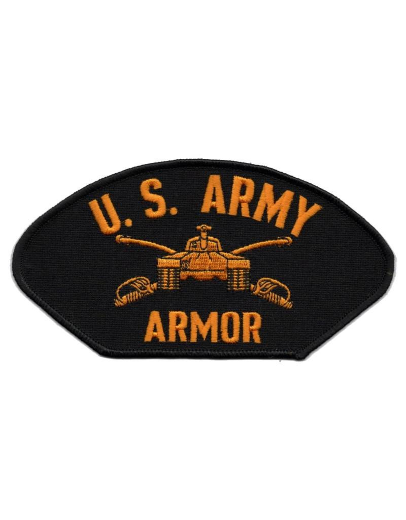 MidMil Embroidered U. S. Army Armor Patch with Emblem