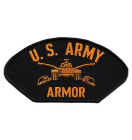 Embroidered U. S. Army Armor Patch with Emblem
