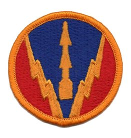 Embroidered Air Defense Artillery Center Patch