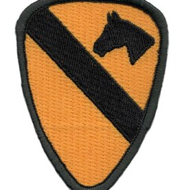 Embroidered 1st Cavalry Division Emblem Patch