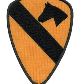 MidMil Embroidered 1st Cavalry Division Emblem Patch