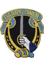 """MidMil Embroidered 7th Cavalry Patch with """"Garry Owen"""""""