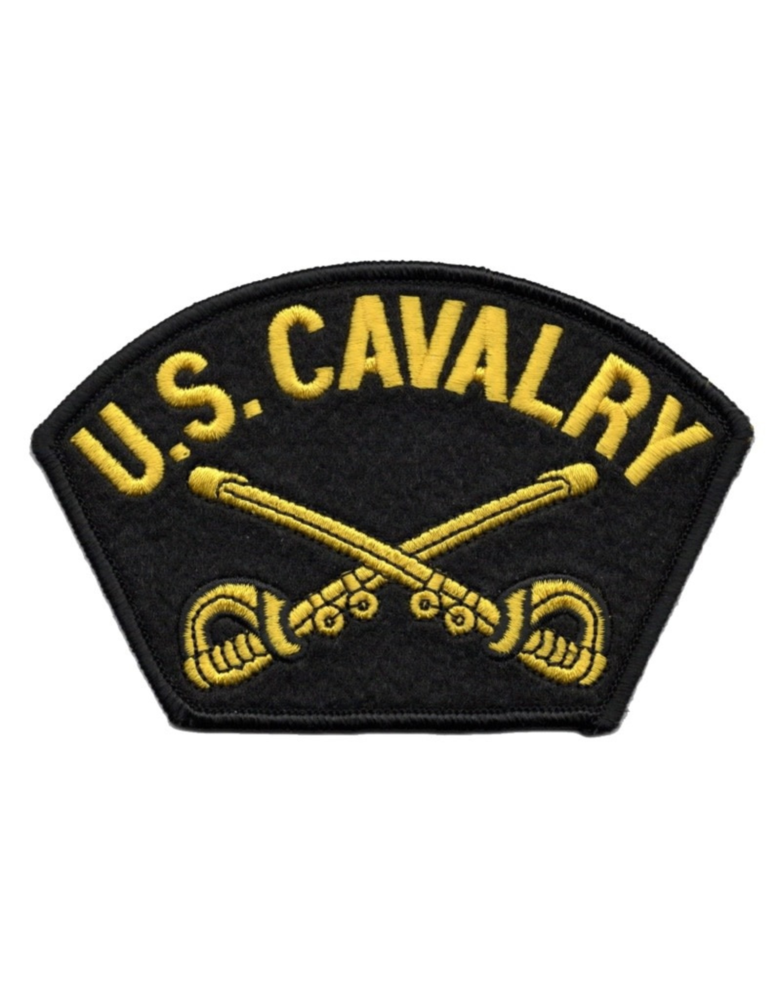 MidMil Embroidered U. S. Cavalry Patch with Emblem