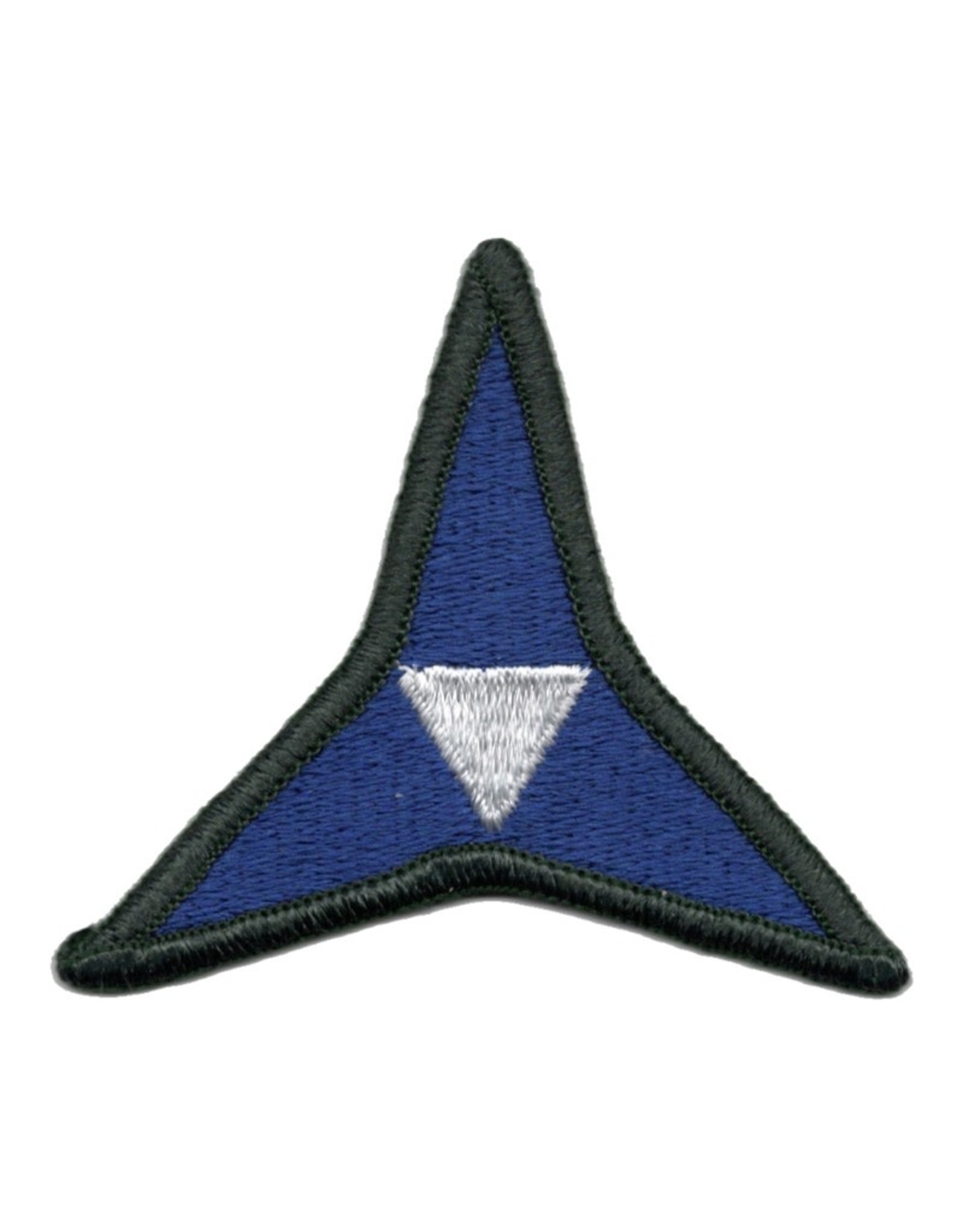 MidMil Embroidered 3rd Army Corps Emblem Patch