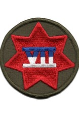 MidMil Embroidered 7th Army Corps Emblem Patch