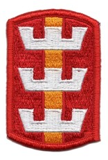MidMil Embroidered Army 130th Engineer Brigade Emblem Patch