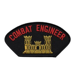 MidMil Embroidered Army Combat Engineer Patch with Emblem