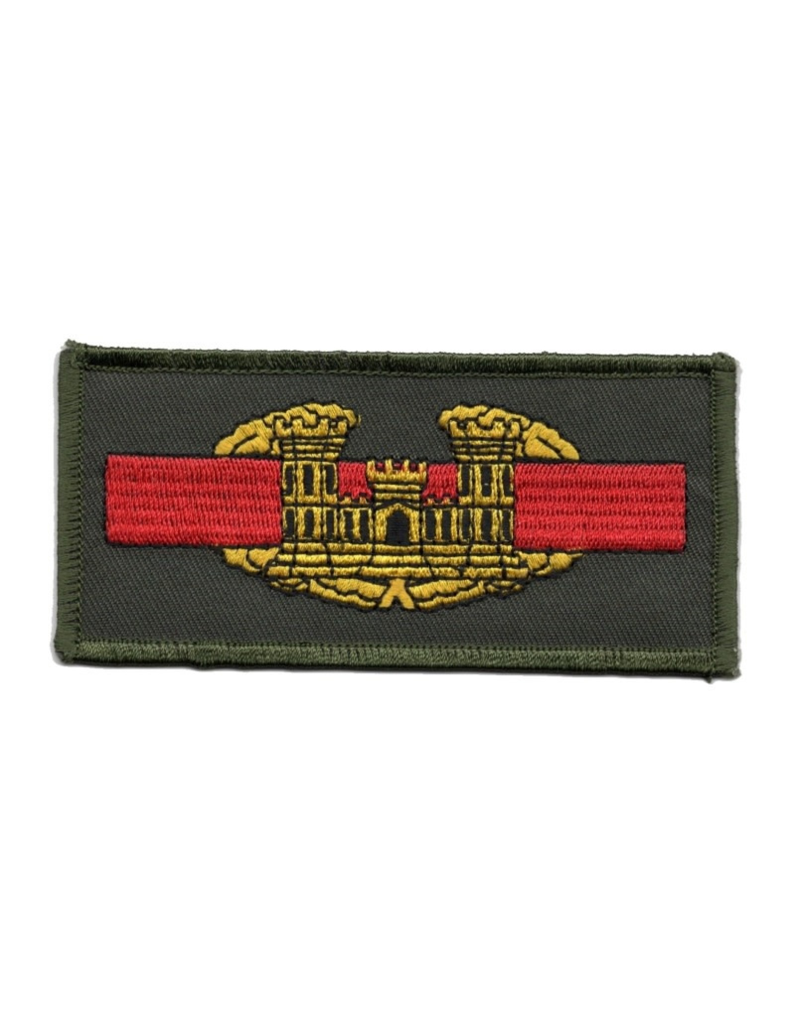 MidMil Embroidered Army Combat Engineer Emblem Patch