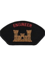 MidMil Embroidered Army Engineer Patch with Emblem