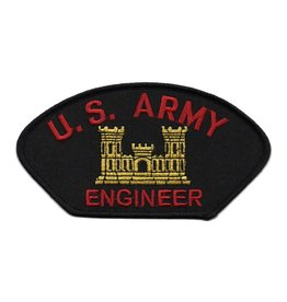 MidMil Embroidered U. S. Army Engineer Patch with Emblem