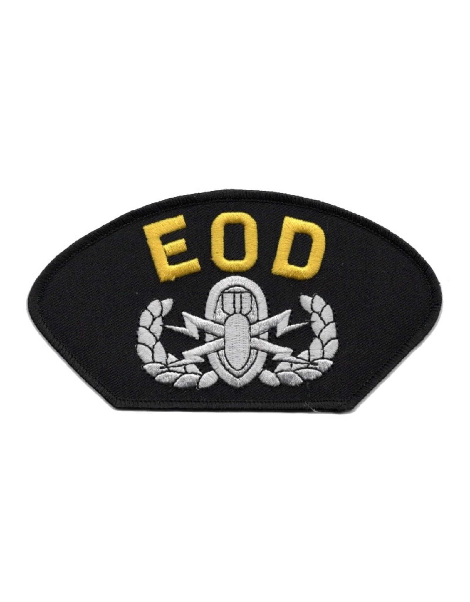 MidMil Embroidered EOD Patch with Emblem
