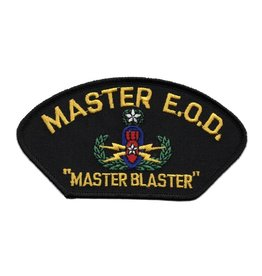 "MidMil Embroidered Master E.O.D. Patch with Emblem and ""Master Blaster"""