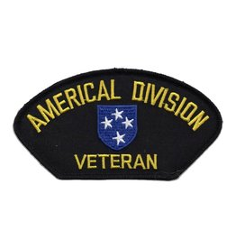 MidMil Embroidered Americal Division Veteran Patch with Emblem