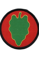 MidMil Embroidered 24th Infantry Division Emblem Patch 3""