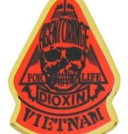 MidMil Agent Orange Dioxin Vietnam Pin 1""