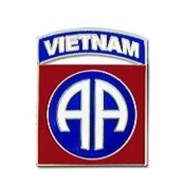 "MidMil 82nd Airborne Vietnam Emblem Pin 7/8"""